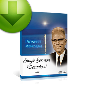 MP3 Single Sermons