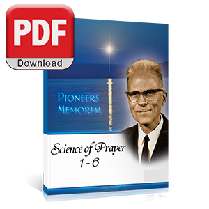Science of Prayer 1-6